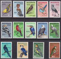 BOTSWANA 1967 - PAJAROS - BIRDS - OISEAUX - YVERT 171-184** - Botswana (1966-...)