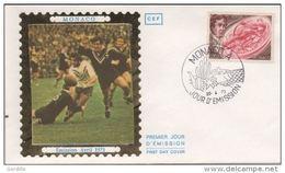 FDC MONACO 1973 William Webb Ellis Rugby - Rugby