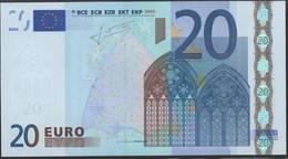 M PORTUGAL 20 EURO  U018 - TRICHET  UNC - EURO