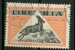Liberia 1921 $1.00 Bongo Issue #192 - Liberia