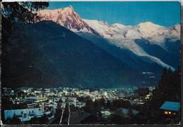 """FRANCIA - CHAMONIX MONT-BLANC - VIAGGIATA 1971  - ANNULLO A TARGHETTA """" SKI ALPINISME CHAMONIX MONT-BLANC"""" - Alpinisme"""