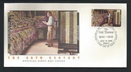 Marshall Islands 1998 The 20th Century ENIAC Computer FDC Y.T. 1037 ** - Marshall