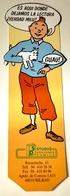 Marcapáginas - Tintin Y Milú / Studio De Ediciones Comics, Bilbao - Marcapáginas