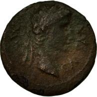 Monnaie, Auguste, Bronze, Ier Siècle AV JC, Gallic Imitation, B+, Bronze - Romaines