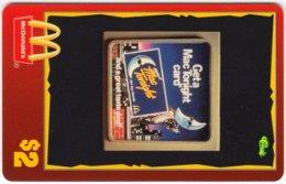 USA C-458 Prepaid Sprint - Advertising, Food, McDonalds - MINT - Vereinigte Staaten