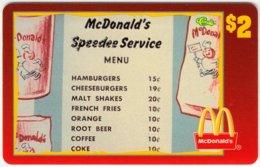 USA C-459 Prepaid Sprint - Advertising, Food, McDonalds - MINT - Vereinigte Staaten