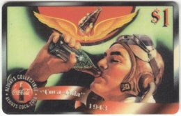 USA C-573 Prepaid Sprint - Advertising, Drink, Coca Cola - FAKE - Vereinigte Staaten