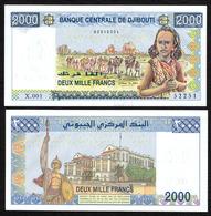 DJIBOUTI :2000 Franchi - 2005 - UNC - Banconote