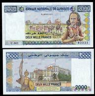 DJIBOUTI :2000 Franchi - 1997 - UNC - Altri – Africa