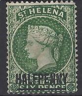 Santa Helena U 012 (o) Victoria. 1884 - Isla Sta Helena
