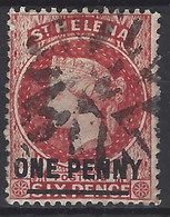 Santa Helena U 013 (o) Victoria. 1884 - Saint Helena Island