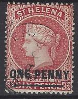 Santa Helena U 013 (o) Victoria. 1884 - Isla Sta Helena