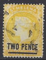 Santa Helena U 014 (o) Victoria. 1884 - Saint Helena Island