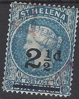 Santa Helena U 015 (o) Victoria. 1884 - Isla Sta Helena