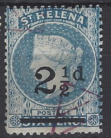 Santa Helena U 015 (o) Victoria. 1884 - Saint Helena Island