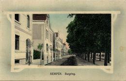 KEMPEN Am Niederrhein, Burgring (1910s) AK - Germany