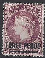 Santa Helena U 016 (o) Victoria. 1884 - Isla Sta Helena