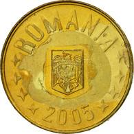 Monnaie, Roumanie, Ban, 2005, TTB, Brass Plated Steel, KM:189 - Roumanie