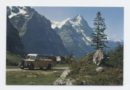 AUTOBUS GRINDELWALD GROSSE SCHEIDEFF EIGER --CAR BUS --RECTO/VERSO- B36 - BE Berne