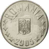 Monnaie, Roumanie, 10 Bani, 2005, Bucharest, TTB, Nickel Plated Steel, KM:191 - Roumanie