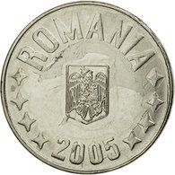 Monnaie, Roumanie, 10 Bani, 2005, Bucharest, TTB, Nickel Plated Steel, KM:191 - Rumänien