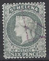 Santa Helena U 018 (o) Victoria. 1884 - Saint Helena Island