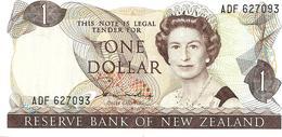 NEW ZEALAND $1 JAMES COOK WMK 2ND ISSUE HEAD OF QEII BIRD BACK ND(1981-85) SIGN HARDIE P.169a W. 1992 READ DESCRIPTION - Nouvelle-Zélande