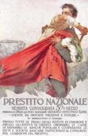 [DC7536] CPA - PRESTITO NAZIONALE RENDITA CONSOLIDATA 5% - FIRMATA MARIO BORGONI - PERFETTA - Old Postcard - Militari