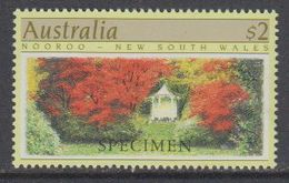 "Australia 1989 Nooroo - New South Wales 1v ""Specimen"" ** Mnh (40847) - 1980-89 Elizabeth II"