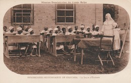 Congo-belge : NIANGARA : Dominicaines Missionnaires De Niangara - La Leçon D'écriture - Congo Belga - Otros