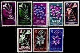 TANGER, Telegraphs, */** MLH/MNH, F/VF - Spanisch-Marokko
