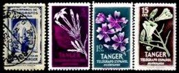 TANGER, Telegraphs, */o M/U, F/VF - Spanisch-Marokko