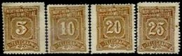 UNITED STATES, Telegraphs, (*)/* MNG/MLH, F/VF - Telegraph Stamps