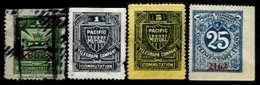 UNITED STATES, Telegraphs, */o M/U, F/VF - Telegraph Stamps