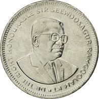 Monnaie, Mauritius, 1/2 Rupee, 2007, SUP, Nickel Plated Steel, KM:54 - Maurice