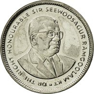Monnaie, Mauritius, 20 Cents, 2007, SUP, Nickel Plated Steel, KM:53 - Maurice