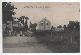 CHAUSSIN (39) - QUARTIER DE LA GARE - Frankrijk