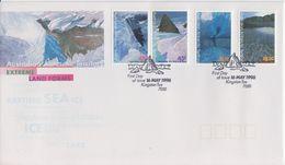 AAT 1996 Landscaps/Landforms 4v FDC (F7534) - FDC