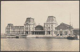 Station Oostende, Natiënkaai, Oostende, C.1915 - Foto Briefkaart - Oostende
