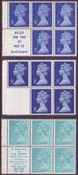 3 X GB  Decimal Machin Booklet Panes UM/MNH - 1952-.... (Elizabeth II)