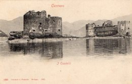 [DC7547] CPA - CANNERO - I CASTELLI - Old Postcard - Verbania