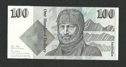 Australia 100 Dollars ND (1984) Sign.Johnston -J.Stone P-48a, R-608 UNC LESS - 1974-94 Australia Reserve Bank (paper Notes)