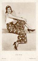 [DC7550] CPA - LISSI ARNA - ATTRICE - Viaggiata 1934 - Old Postcard - Attori