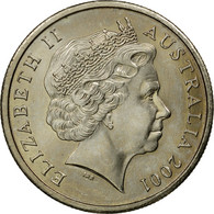 Monnaie, Australie, Elizabeth II, 5 Cents, 2001, SUP, Copper-nickel, KM:401 - Monnaie Décimale (1966-...)