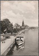 Mainpromenade, Frankfurt Am Main, Hessen, 1955 - Peter Nagel Foto AK - Frankfurt A. Main