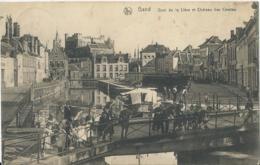 Gent - Gand - Quai De La Liève Et Château Des Comtes - Ern. Thill Série 3 No 33 - 1912 - Gent