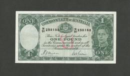 AUSTRALIA 1 POUND ND (1942) Armitage / McFarlane P-26b VF++ - Emissions Gouvernementales Pré-décimales 1913-1965