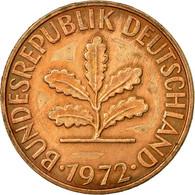 Monnaie, République Fédérale Allemande, 2 Pfennig, 1972, Hambourg, TTB - [ 7] 1949-… : FRG - Fed. Rep. Germany