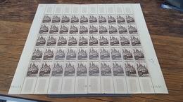 LOT 417328 TIMBRE DE FRANCE NEUF**FEUILLE N°917 VALEUR 300 EUROS BLOC - Feuilles Complètes