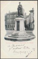 The Coronation Statue Of King Edward VII, Reading, Berkshire, C.1903 - Postcard - Reading